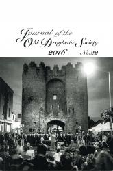 Journal of the Old Drogheda Society No.22 2016 Front Cover