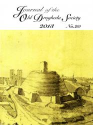 Journal of the Old Drogheda Society 2013 No.20 Front Cover